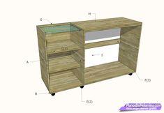 a Rack Tv, Filing Cabinet, Shelving, Lockers, Locker Storage, Dresser, The Unit, Furniture, Home Decor