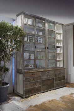 Coins et recoins - Décoration salon / Living-room - deco Nordic style - La touche d'Agathe - buffet