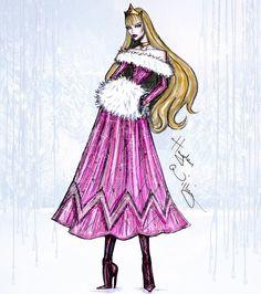 Disney Divas 'Holiday' collection by Hayden Williams: Aurora