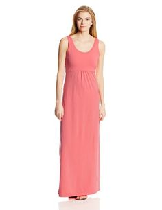 Columbia Sportswear Women's Reel Beauty II Maxi Dress, Hot Coral, Small