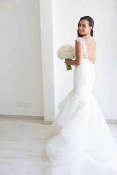 Steven Khalil Lace Size 8 Wedding Dress For Sale | Still White Australia