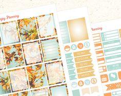 Fall Planner Sticker set Autumn Planner Sticker set autumn leaves planner…