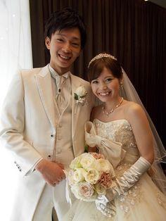 jill stuart wedding dress  ジルスチュアートのウェディングドレスを着てご結婚!!