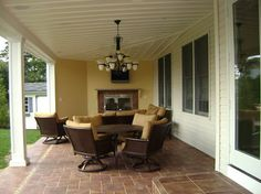 Outdoor living space is not just for summer time! - Design Build Pros