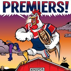 Top of the Pecking Order - The Sydney Roosters are the 2018 NRL Premiership Champions Rooster Logo, Pecking Order, Rugby League, Sports Logos, Roosters, Sydney, Champion, Rabbit, Logo Design