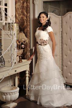 Modest Wedding Dress Opaline