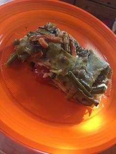 Di domenica si può fare qualcosa di sfizioso ma sempre salutare ☺️ Lasagne vegetariane  gnam gnam