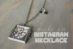 Instagram Necklace Tutorial