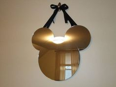Mickey Mouse Shaped Mirror by RVarga89 on Etsy:
