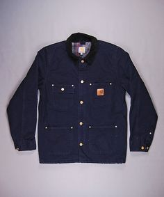 The Homme Depot : Carhartt Chore Jacket Carhartt Jacket, Carhartt Wip, Work Jackets, Men's Coats And Jackets, Fall Jackets, Shirt Jacket, Work Wear, Vintage Outfits, Menswear