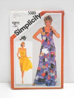 Simplicity 5383 SUNDRESS DRESS 2 lengths by HeavenztoBetsyDesign