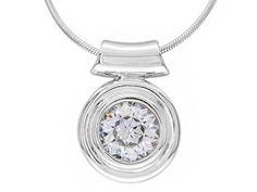 "Remy Rotenier For Bella Luce (R) 3.41ctw Rhodium Plated Sterling Silver ""remy's Pendant"" With Chain"
