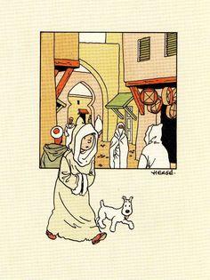 Herge Tintin, Ligne Claire, Classic Comics, Animated Cartoons, Ex Libris, Bibliophile, E Design, Pop Culture, Or Noir