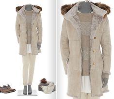 Комплекты из коллекции осень-зима 2011/12 от Brunello Cucinelli Fall Winter, Autumn, Brunello Cucinelli, Neutral Colors, Fur, Beige, How To Wear, Jackets, Clothes