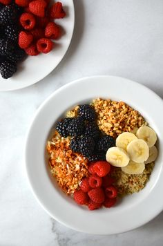 Quinoa and Fruit Breakfast Bowls Recipe