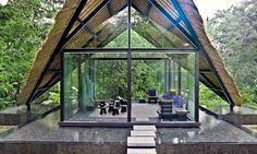Indonesia, Ubud Bali Lotus Villa, Meditation Pavilion