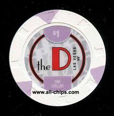 #LasVegasCasinoChip of the Day is a New $1 D 2nd issue ypou can get here https://www.all-chips.com/ChipDetail.php?ChipID=19547 I have the rest of the rack in stock too $5-$100 #CasinoChip #LasVegas #Downtown