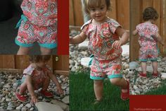 Shorts suit for toddlers Tutorial - go to www.itsalwaysautumn for a pattern download of size 12 -18mths.