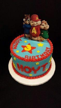 Alvin & the Chipmunks Birthday Cake