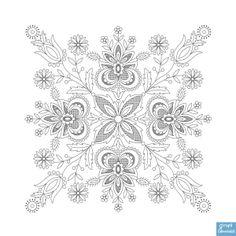 Wzory Haftu Kaszubskiego Szkoła Wdzydzka - Księgarnia Kaszubska //  Kashubian embroidery patterns