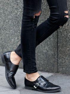 promo code 17d84 61ceb Shoes  3 Gata Stil Sommar, Herrskor, Hörnskåp Garderob, Svarta Skor, Byxor