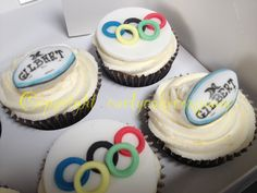 Rugby and Olympics fan cuppies