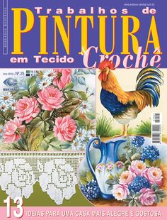 Reembolso Central: revista ponto cruz, crochê, bordado, artesanato, Editora…