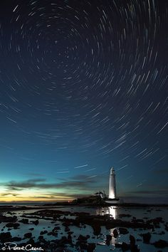 Last Man Standing (St Mary's 'Comet Like' Star Trails) | by St1nkyPete