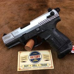 New Walther P22 Two Tone Carbon Fiber .22 | Victory Guns & Guitar Works, LLC