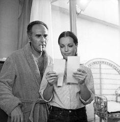 Michel Piccoli and Romy Schneider in Les choses de la vie directed by Claude Sautet, 1970