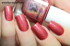 radiance summer 2014 holo polish by fun lacquer liloo nail art