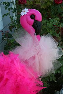 Flamingos with tutus and boas.  Enough said.