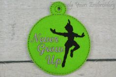 Never Grow Up Ornament