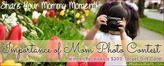 Photo Contest: Win a $200 Target Gift Card! #ImportanceofMom