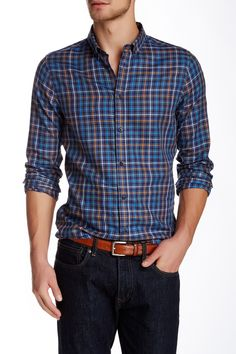 Long Sleeve Multi Colored Shirt by Ben Sherman on @nordstrom_rack