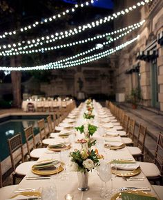 14 Reception Photos to Fulfill Your Outdoor Wedding Fantasy: http://www.modwedding.com/2014/10/12/14-reception-photos-fulfill-outdoor-wedding-fantasy/ #wedding #weddings #wedding_reception Photography: EyeWonder Photography
