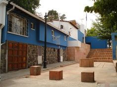 La Chascona (casa de Pablo Neruda) in Santiago, Chile