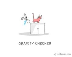 17 Funny Illustrations That Explain Your Cats Strange Behaviour. Just cat things.