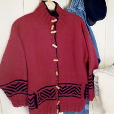 maddy laine--Maddy Cranley--Chunky Knit Jacket