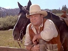 Hoss from Bonanza and his horse, Chub