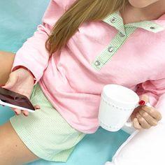 Miller Pullover Pink/Green
