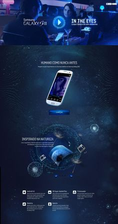 Unique Web Design on the Internet, Samsung Galaxy SIII #webdesign #webdevelopment #website