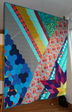 Oh what wonderful ideas this brings to mind, so many fabrics and patterns, so little time. Anna Boenish