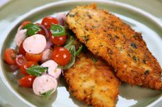 the chew - Michael Symons chicken scallopini