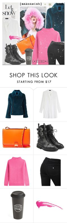 """Let It Snow!"" by elena-777s ❤ liked on Polyvore featuring Liska, Joseph, Valentino, Giuseppe Zanotti, Diane Von Furstenberg, STELLA McCARTNEY, The Created Co., 2017 and autumnwinter2016"
