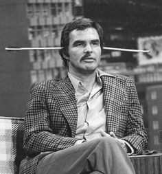 Burt Reynolds with half a mustache after Steve Martin dared him to shave it off. #Follow Me #CooliPhone6Case on Twitter Facebook Google Instagram LinkedIn Blogger Youtube