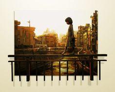 Shintaro Ohata Sculptural Paintings