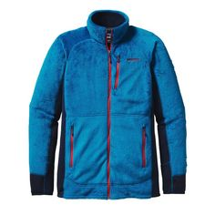 Patagonia Men\'s R2 Jacket - Underwater Blue UWTB