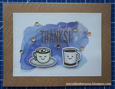 Thank You Card Series Coffee