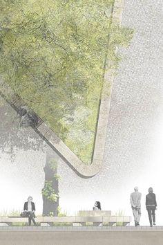 Interesting Find A Career In Architecture Ideas. Admirable Find A Career In Architecture Ideas. Landscape Diagram, Landscape Design Plans, Landscape Concept, Urban Landscape, House Landscape, Landscape Architecture Drawing, Architecture Portfolio, Architecture Details, Landscape Architects